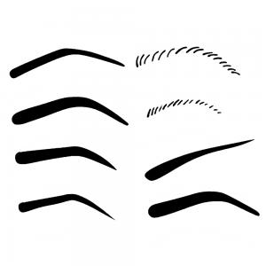 Mistair Eyebrow Templates