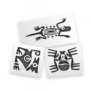 Aztec Animal Stencils