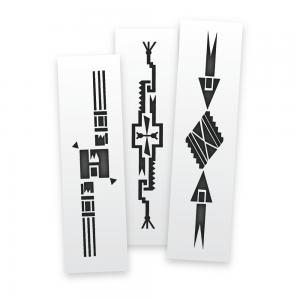 Aztec Bands Stencils