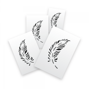 Feathers Stencils