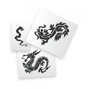 Dragons Stencils