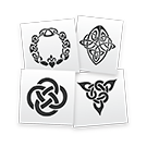 Celtic Symbols Stencils