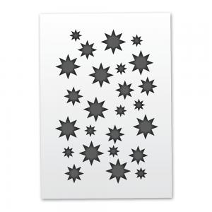 Mistair Stars Stencil