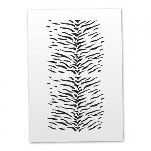Mistair Tiger Skin Stencil