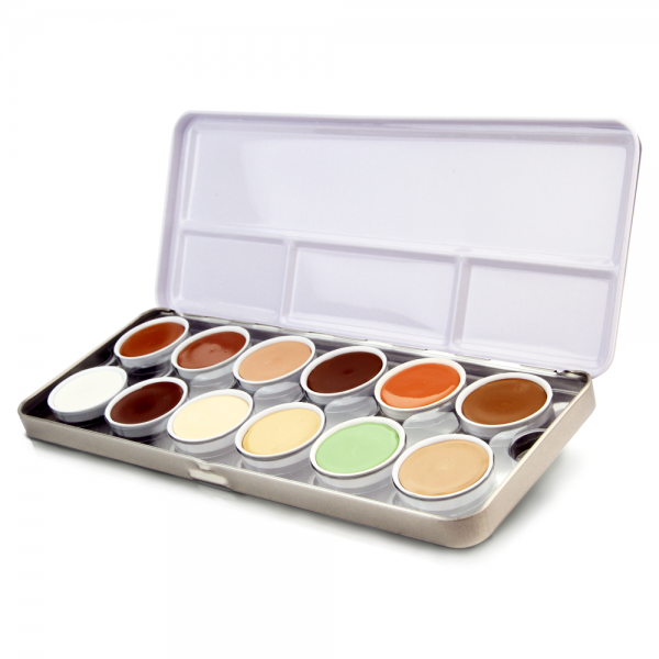 Stageline Make-up Palette - 12 colours