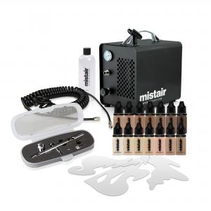 Mistair Solo Pro Airbrush Make-up Beginner Kit